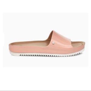 UGG Jane patent slide sandal sunset pink size 9